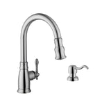 "Cahaba 36"" Stainless Steel Single Bowl Farmhouse Sink Set with Faucet - The Sink Boutique"