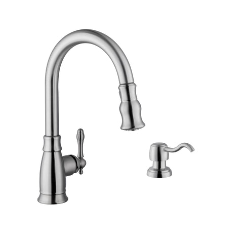 "Cahaba 16"" Single Handle Faucet, Pull Down"