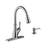 "Cahaba 33"" Stainless Steel Single Bowl Farmhouse Sink Set with Faucet - The Sink Boutique"