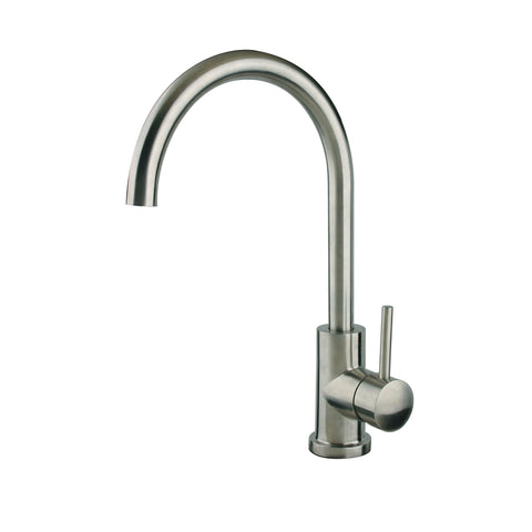 "Cahaba 14"" Single Handle Faucet, Standard, Goose Neck Style"