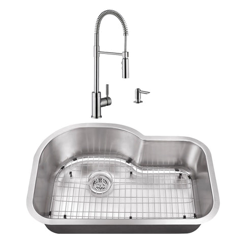 Undermount Kitchen Sinks Offset Faucet on wall mount kitchen sink faucet, farmhouse kitchen sink faucet, single kitchen sink faucet,
