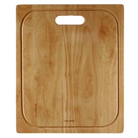 "Houzer 15"" Premium Hardwood Cutting Board, CB-4100"
