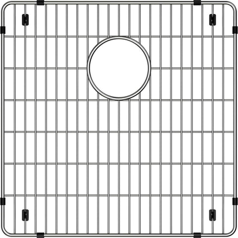 "Elkay CTXBG1616 Crosstown Stainless Steel 16-1/4"" x 16-1/4"" x 1-1/4"" Bottom Grid"