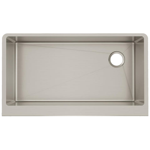 "Elkay Crosstown 36"" Stainless Steel Farmhouse Kitchen Sink, Polished Satin, CTXF134179R"