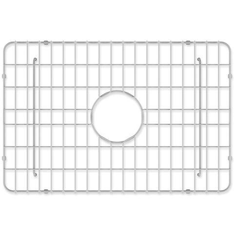 "Crestwood Sink Grid for 24"" Fireclay Farmhouse Apron Kitchen Sink, CW-GRID-S24"