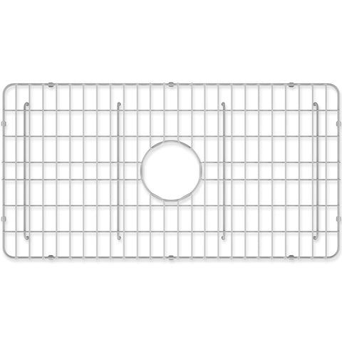 "Crestwood Sink Grid for 30"" Fireclay Farmhouse Apron Kitchen Sink, CW-GRID-S30 - The Sink Boutique"