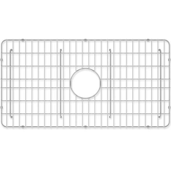 "Crestwood Sink Grid for 33"" Fireclay Farmhouse Apron Kitchen Sink, CW-GRID-S33 - The Sink Boutique"