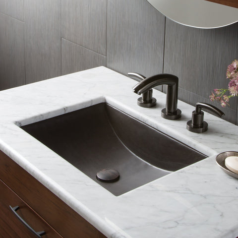 "Native Trails 36"" Carrara Vanity Top - Rectangle with 8"" Widespread Cutout, VNT36-CR"