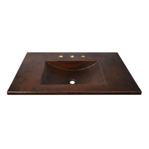 "Native Trails 36"" Cozumel Vanity Top in Antique, VNT3622"