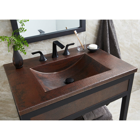 "Native Trails 30"" Cozumel Vanity Top in Antique, VNT3022"
