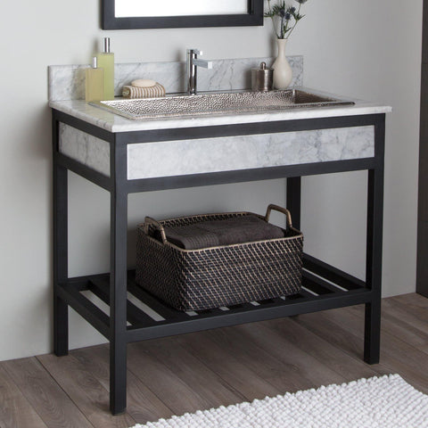 "Native Trails 36"" Cuzco Vanity in Carrara, VNR366"