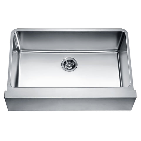 Dawn® Undermount Single Bowl with Straight Apron Front Sink DAF3320 Main Image