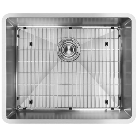 "Elkay Crosstown 23"" Stainless Steel Kitchen Sink, Polished Satin, ECTRU21179TC"