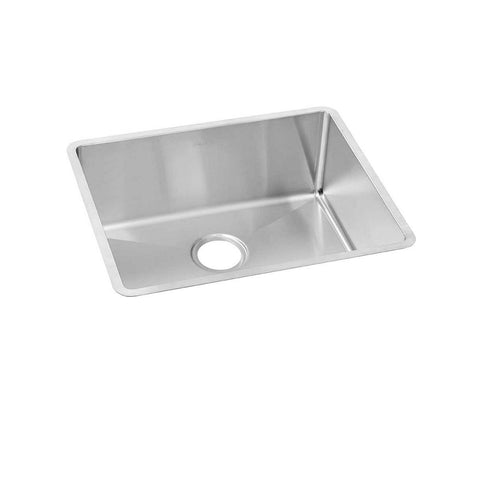 "Elkay Crosstown 23"" Stainless Steel Kitchen Sink, Polished Satin, ECTRU21179T"