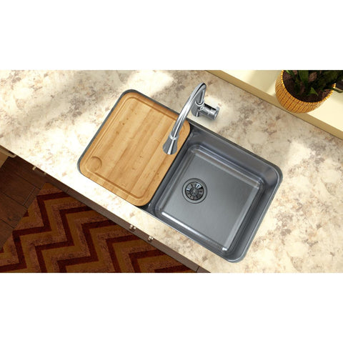 "Elkay LKCB1216HW Hardwood 14-1/2"" x 17-5/16"" x 1"" Cutting Board"