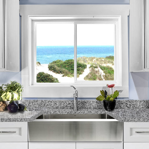 "Nantucket Sinks Pro Series 30"" Stainless Steel Farmhouse Sink, EZApron30"