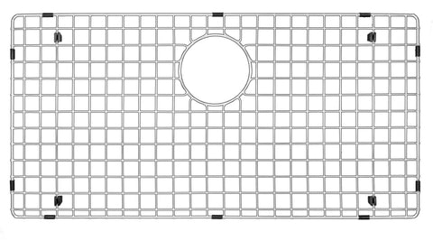 "Karran 28.75"" x 14.5"" Stainless Steel Grid, GR-6001"