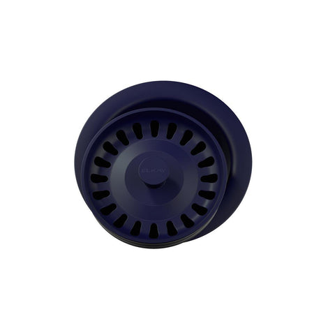 "Elkay LKQD35JB Polymer 3-1/2"" Disposer Flange with Removable Basket Strainer and Rubber Stopper Jubilee"