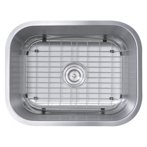 "Nantucket Sinks Sconset 23"" Stainless Steel Kitchen Sink, NS09i-16"