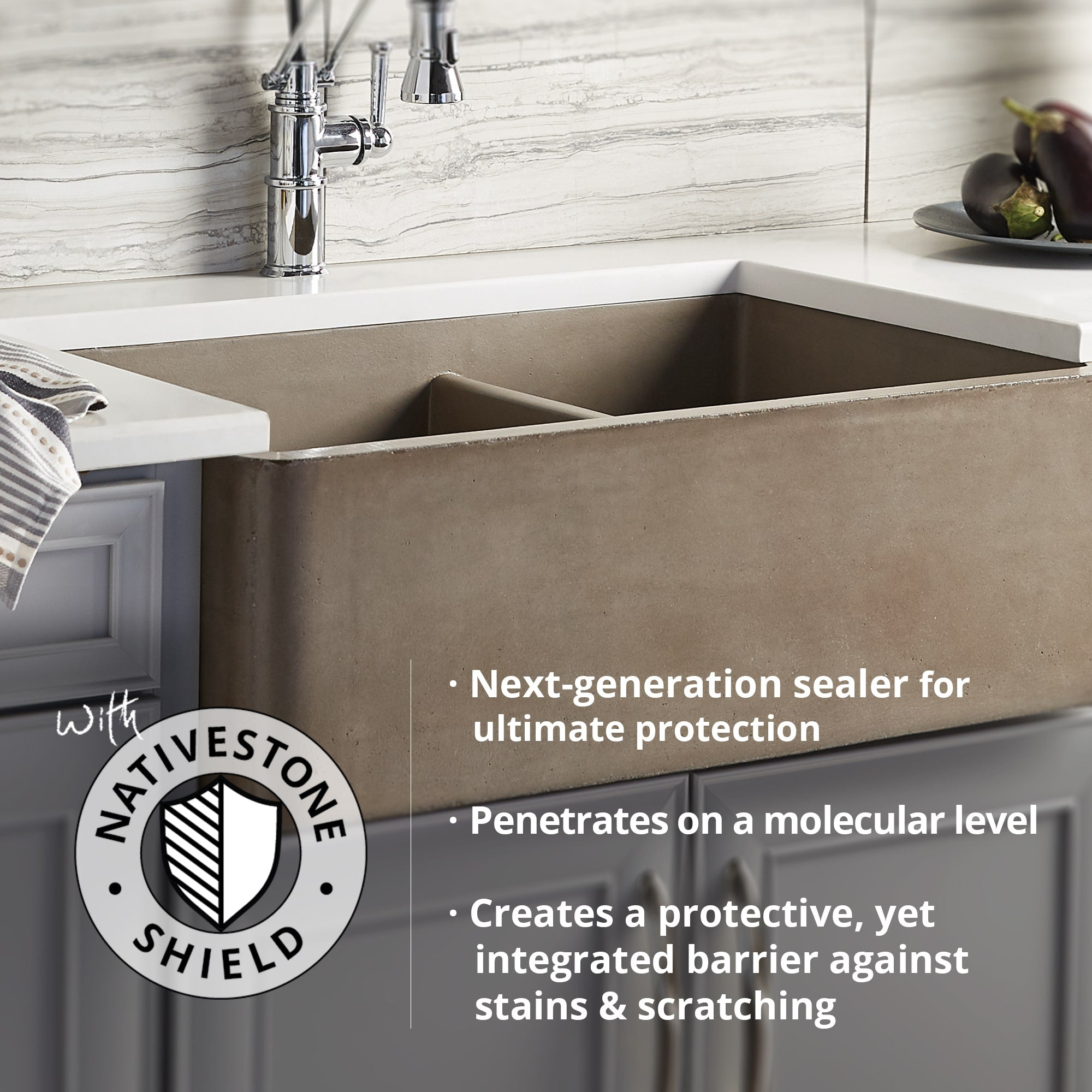 Native Trails 48 Nativestone Vanity Top In Slate Vessel Cutout With The Sink Boutique