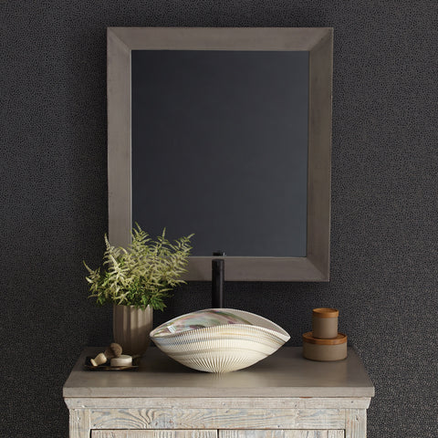 "Native Trails 36"" Native Stone Vanity Top in Ash- Vessel with Single Hole Cutout, NSV36-AV1"