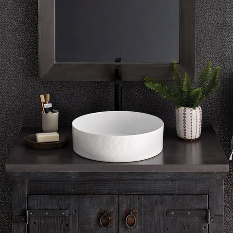 "Native Trails 36"" Native Stone Vanity Top in Slate- Vessel with Single Hole Cutout, NSV36-SV1"