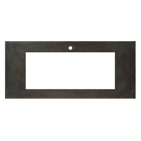 "Native Trails 48"" Native Stone Vanity Top in Slate- Trough with Single or No Faucet Hole, NSV48-ST"
