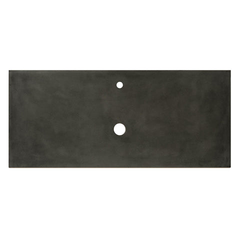 "Native Trails 48"" Native Stone Vanity Top in Slate- Vessel with Single Hole Cutout, NSV48-SV1"