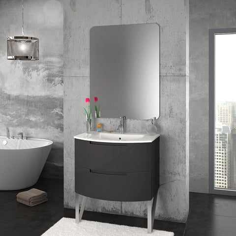 "Latoscana 29"" Modern Bathroom Vanity, Oasi Series, OA29OPT1 - The Sink Boutique"