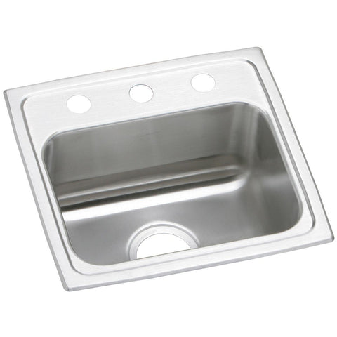 "Elkay Celebrity 17"" Stainless Steel Kitchen Sink, PSR17163"