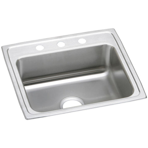 "Elkay Celebrity 25"" Stainless Steel Kitchen Sink, PSR25223"