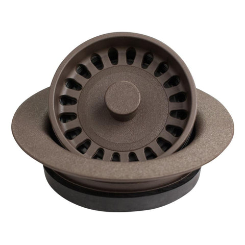 Karran Plastic Disposal Flange, Brown, QDFBR