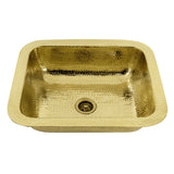 "Nantucket Sinks Brightwork Home 18"" Brass Bar Sink, REB"