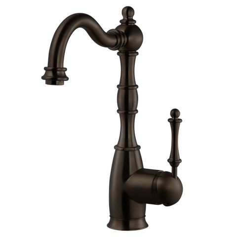 Houzer Regal Solid Brass Bar Faucet Oil Rubbed Bronze, REGBA-160-OB