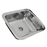 "Nantucket Sinks Brightwork Home 18"" Stainless Steel Bar Sink, RES"
