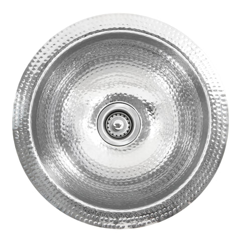 "Nantucket Sinks Brightwork Home 13"" Stainless Steel Bar Sink, ROS"