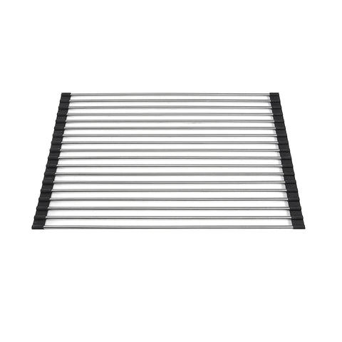 Nantucket Sinks Stainless Steel Roll Up Kitchen Mat - RUM