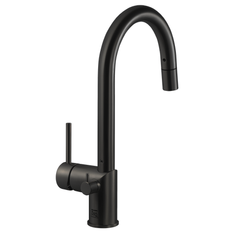 Houzer Sentinel Pull Down Kitchen Faucet Hot Water Safety Oil Rubbed Bronze, SENPD-466-OB