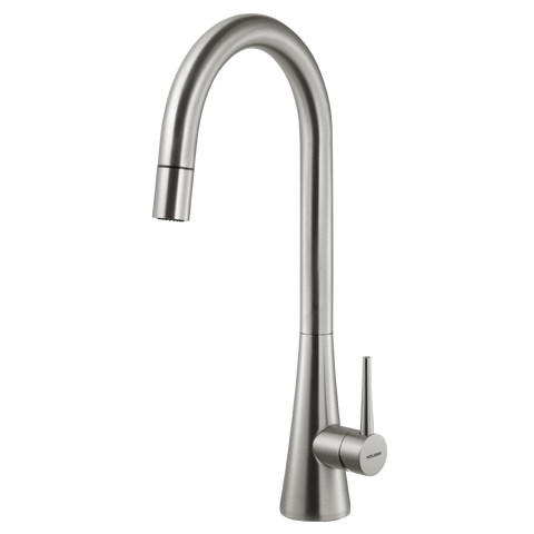 Houzer Soma Pull Down Kitchen Faucet  Brushed Nickel, SOMPD-669-BN