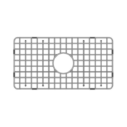 "Latoscana Stainless Steel Grid for 30"" Fireclay Farmhouse Apron Sink SSG-LFS3018 - The Sink Boutique"