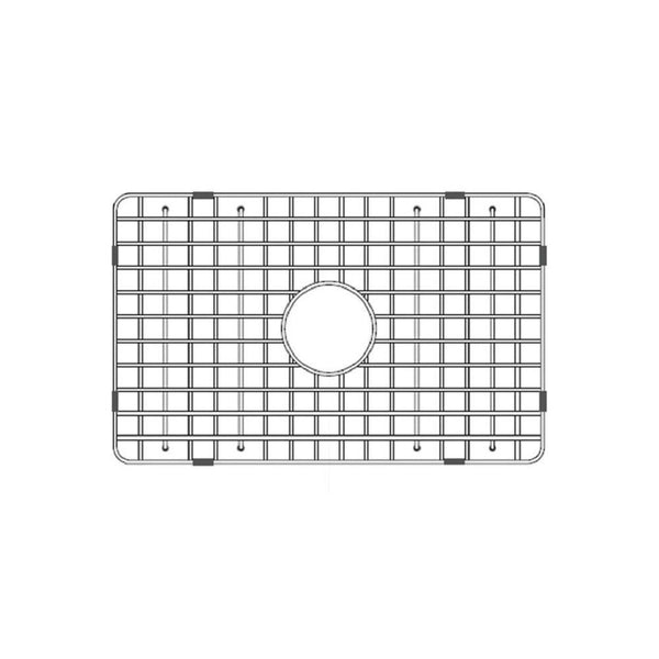 "Latoscana Stainless Steel Grid for 27"" Fireclay Farmhouse Apron Sink SSG-LTW2718 - The Sink Boutique"