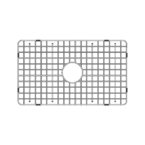 "Latoscana Stainless Steel Grid for 30"" Fireclay Farmhouse Apron Sink SSG-LTW3019 - The Sink Boutique"