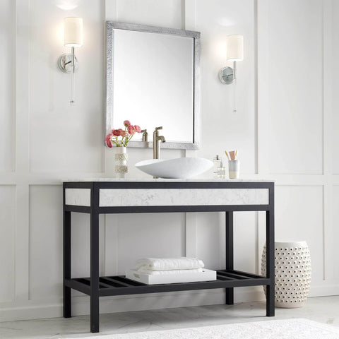 "Native Trails 48"" Cuzco Vanity in Carrara, VNR486"