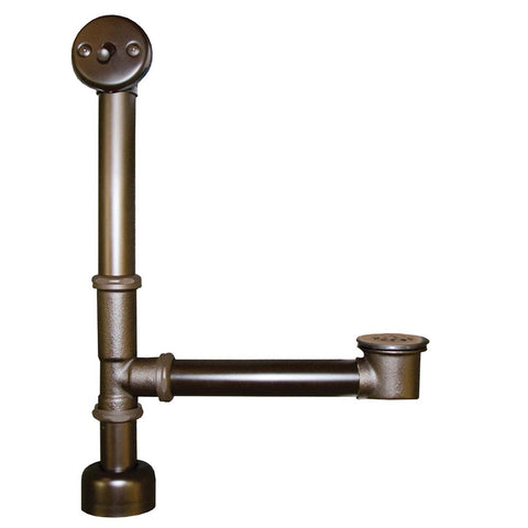 Native Trails Trip Lever Bath Waste & Overflow for Aurora in Oil Rubbed Bronze, DR280-ORB