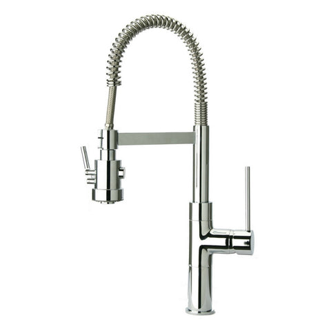 Latoscana Single Handle Pull Out Spray Kitchen Faucet, Chrome, 78CR557PHD - The Sink Boutique