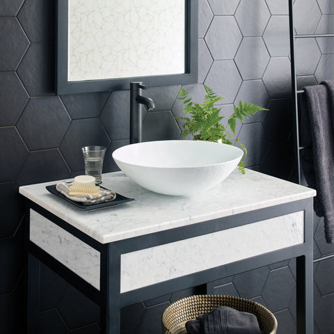 "Native Trails 30"" Cuzco Vanity in Carrara, VNR306"