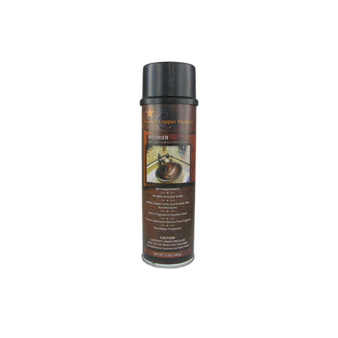 Premier Copper Products Copper Sink Wax Protectant, W900-WAX