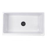 "Nantucket Sinks 36"" Fireclay Farmhouse Sink, White, Cape Collection, Yarmouth-36W"