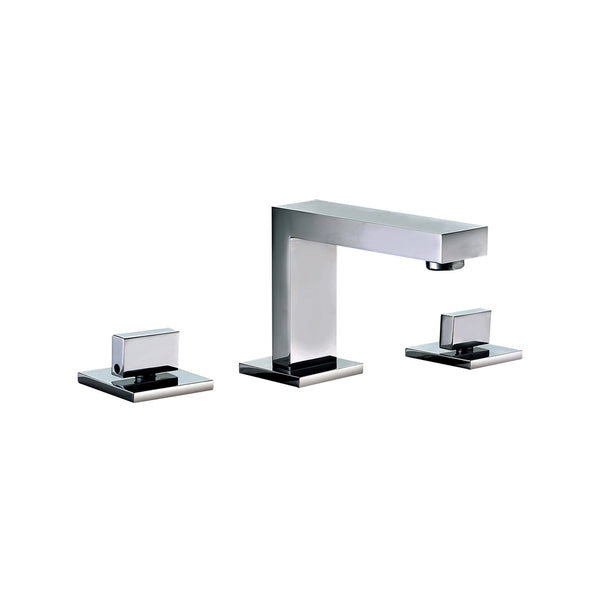 ALFI Polished Chrome Modern Widespread Bathroom Faucet, AB1322-PC