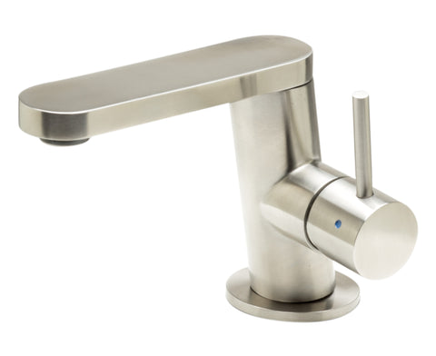 ALFI Ultra Modern Brushed Stainless Steel Bathroom Faucet, AB1010-BSS